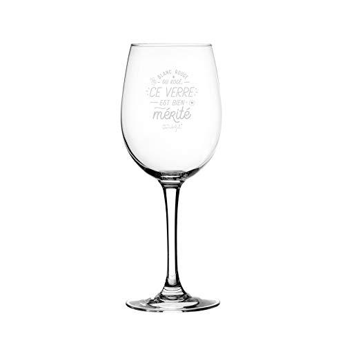 Wijnglas – wit, rood of rosé.