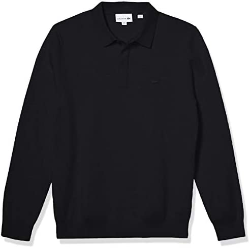 Lacoste Mens Long Sleeve Regular Fit Classic Stitch Sweater