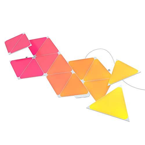Nanoleaf Shapes Triangles Starter Kit - 15PK, NL47-6002TW-15PK, mehrfarben (rgbw)
