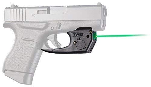 ArmaLaser Designed for Compatible with Glock 42 43 43X 48 TR5G Super-Bright Green Laser Sight with Grip Activation