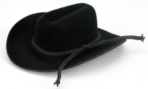 Darice Cowboy Hat with Rope Special price Trim Black 2 inches Columbus Mall
