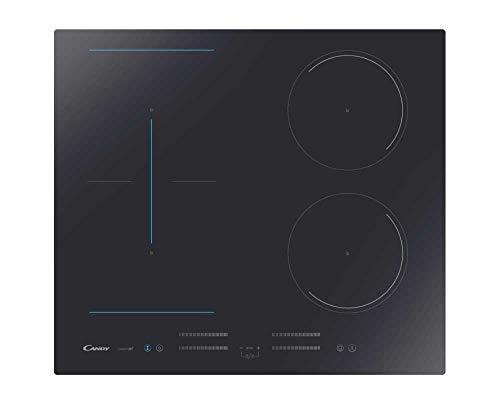 CANDY CMC644TP, plan de cuisson à induction, céramique, noir