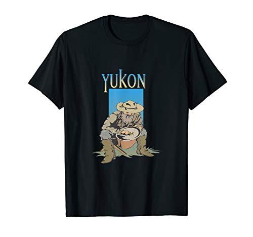 Klondike-Goldrausch-Yukon-Bergmann-Alaska-Hemd T-Shirt