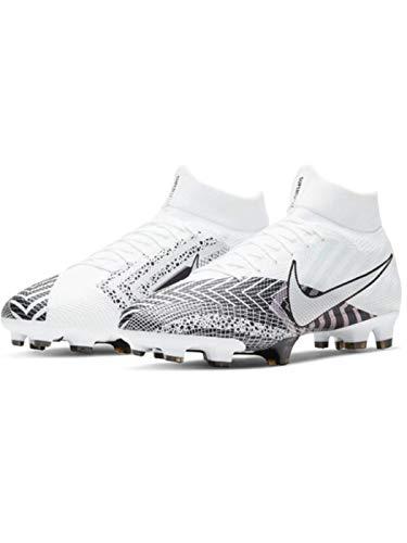 Nike Superfly 7 MDS AG-Pro, Zapatillas de fútbol Hombre, Blanco, Negro, 42 EU
