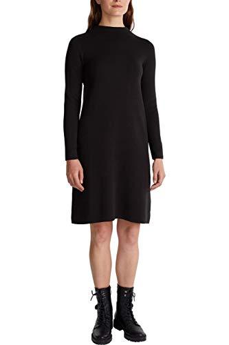 ESPRIT Damen 090EE1E313 Kleid, 003/BLACK 3, M