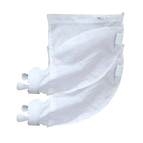 For Sale! zqxsales 2PCS Pool Cleaner Filter Bag Useful Durable Zipper Replacement Bags Pouches Pool ...