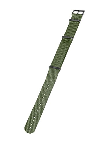 KHS Natoband Olive, Ersatzarmband, KHS.EBNO.20, Uhrenarmband