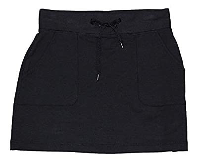 Ideology Womens Fitness Yoga Skirt Black XL