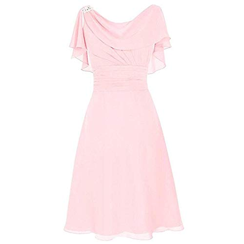 Robe Pull Femme,Robe Blanche Dentelle,Robe Orientale Mariage,Robe Femme Hiver,Robe De Demoiselle Dhonneur,Rose,L