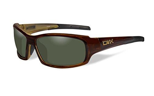 DVX Oculus - ANSI Z87.1 - Polarized Green Lenses/Tortoise Frame (OSHA Compliant Safety Glasses)
