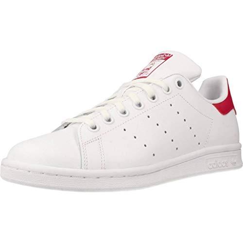 adidas Stan Smith, Sneakers Basses Mixte, Blanc (White B32703), 37 1/3 EU