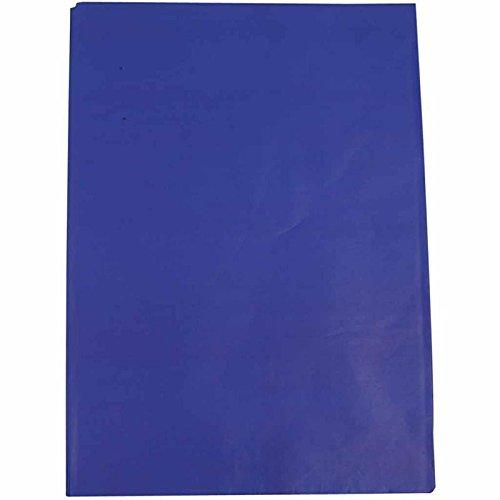 Creavvee® Decoupage Seidenpapier 50x70 cm, Blau 25 Blatt