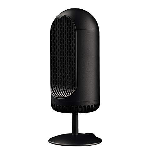Household radiator-kachel mini thermostaat, keramische ventilatorkachel PTC, luchtbevochtiger voor hete en koude lucht, bescherming tegen oververhitting voor huis en kantoor (260 W)