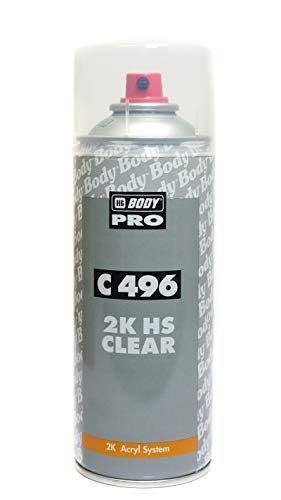Barniz 2K Auto Clear 496 HBBody Spray 400 ml