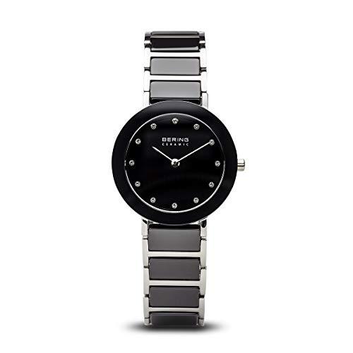 BERING Damen-Armbanduhr Analog Quarz Edelstahl 11429-742
