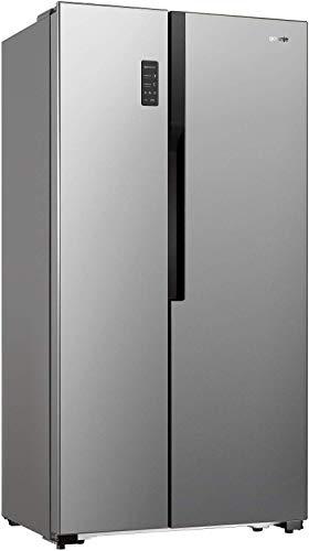 Gorenje NRS 9181 MX/Side by Side Kühl-Gefrierkombination/A+/178,6cm/412 kWh Jahr/177l Gefrierteil/339l Kühlteil/NoFrost/Fresh-Zone-Schublade/Multiflow-Kühlsystem