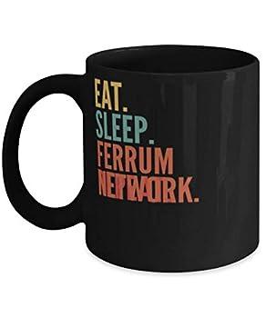 Ferrum Network Crypto Eat Sleep Ferrum Network Repeat Mug 11oz black