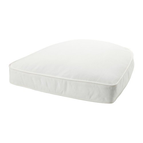 Ikea DJUPVIK Polster Kissen in weiß; (54x54cm)