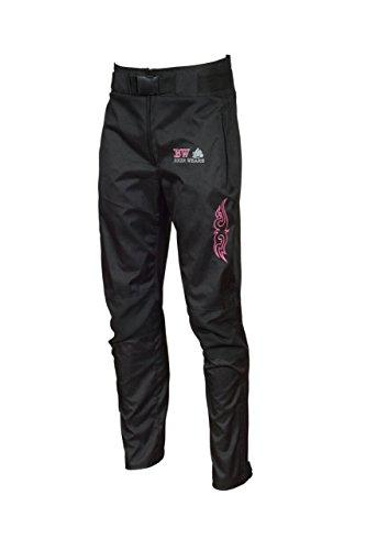 Shannon - Pantalones blindados para mujer, impermeable, a prueba de viento, acolchado