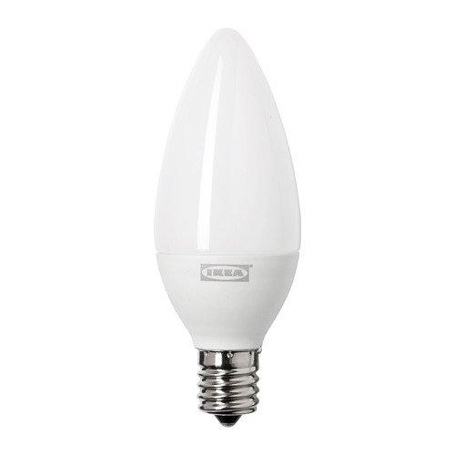 LEDARE レーダレ LED電球 E17 400ルーメン, 調光対応 色温度調光, シャンデリア オパールホワイト 403.888.29