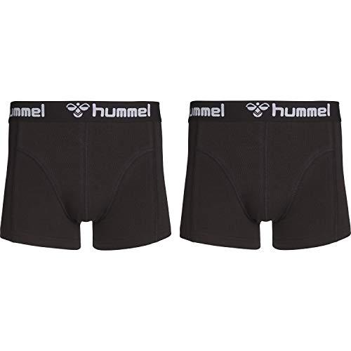 Hummel Herren HMLMARS 2 Boxers, Schwarz/Schwarz, 2XL