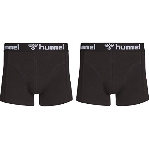 hummel Herren HMLMARS 2 Boxers, Schwarz/Schwarz, M