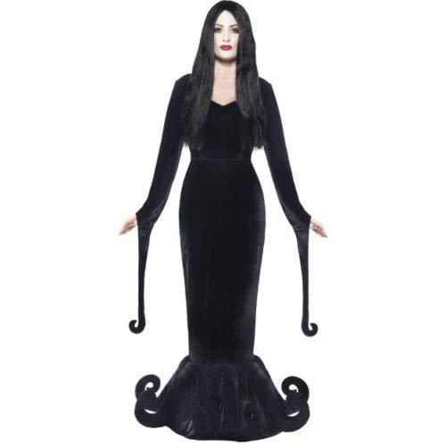 B-Creative Disfraz de duquesa de la mansin de Adams para mujer, de Halloween, talla mediana