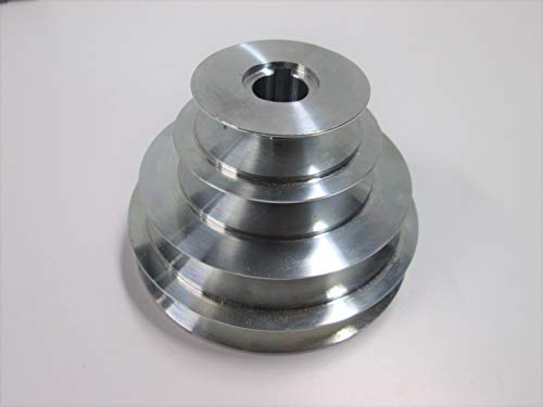 "4-Step Cone Pulley 5/8"" Keyed Bore; for Lathe, Drill Press, Scroll Saw etc. Replaces Craftsman"