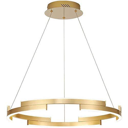 Stella Fella Sala de Estar lámpara led Simple atmósfera Moderna hogar Creativo Anillo Sala lámpara de Techo Personalidad Restaurante Dormitorio lámpara diámetro 600mm