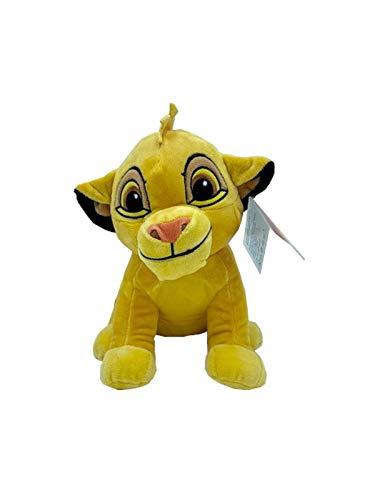 Disney, El Rey León Peluche Mufasa, Simba, Nala, Timón, Pumba 25-30 CM (10-12') Licencia Oficial (SIMBA)