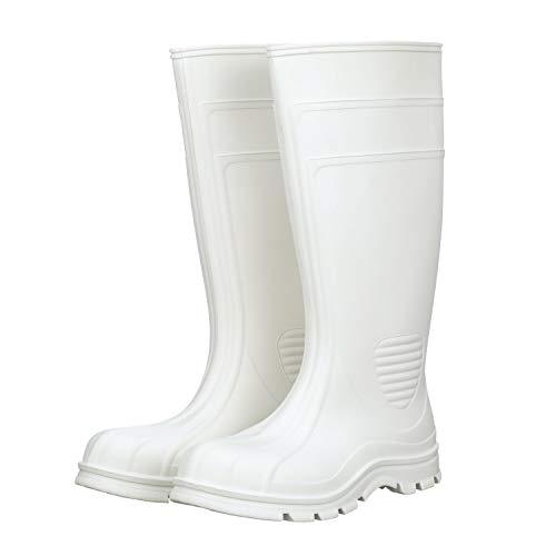 Heartland Footwear 15' White Waterproof Boot, Steel Toe