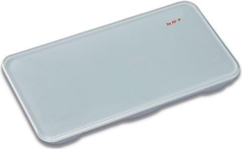 Personen-Reisewaage (LED-Anzeige, klein+leicht, ideal für die Reise, Urlaubswaage bis 150Kg)