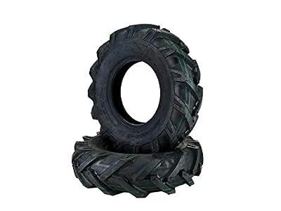 MowerPartsGroup (2) Tiller Tires 4.8x4x8 4.8x4-8 4.80-4.00-8 480/400-8 Ag Tread 4 Ply