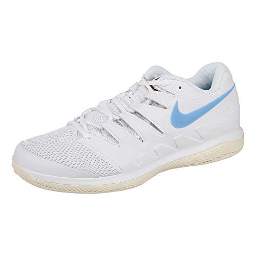 Nike Herren Air Zoom Vapor X CPT Fitnessschuhe, Mehrfarbig (White/University Blue/Light Cream 100), 44 EU