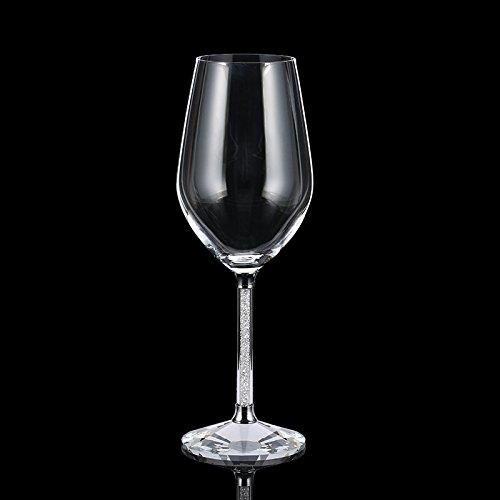 JARONG Tasse À Vin en Verre Transparent sans Plomb Coupe De Vin