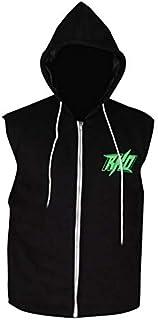 Aus Eshop Wrestler Costumes Randal Keith Randy Orton Black Fleece Hooded Vest