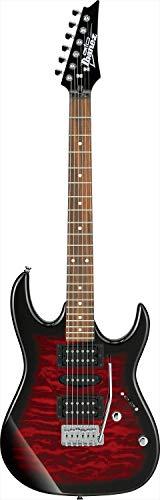 Ibanez GRX70QA-TRB Guitarras eléctricas Metal / Moderno, Rojo