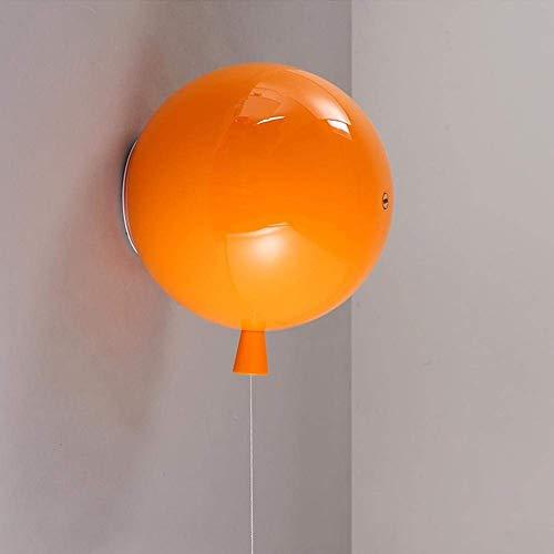XUENUO Led Wandlampe Indoor Wandleuchte LED-Farbe Ballon-Deckenleuchte, Modern Kinderzimmer Deckenleuchte, LED-Deckenleuchten, Schlafzimmer Lampe,?15cm