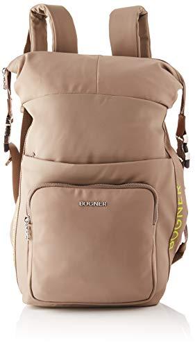 Bogner Damen illa Fashion Backpack/cit, mud, 21/32x35x12