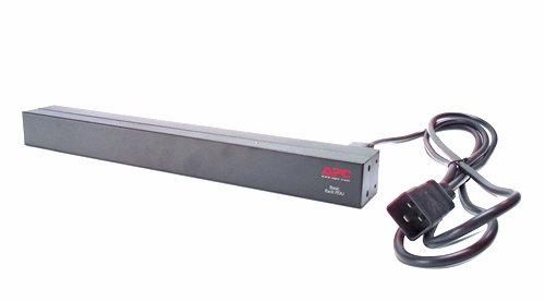 APC by Schneider Electric APC Basic Rack-Mount PDU - Steckdosenleiste (Rack - einbaufähig) - Wechselstrom 208/230 V - Eingabe, Eingang IEC 60320 C20 - Ausgangsanschlüsse: 12 (IEC 60320 C13)