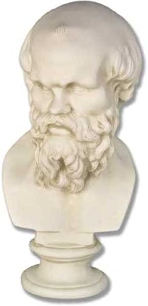 XoticBrands OSF163 Socrates 22 Greek Roman Busts