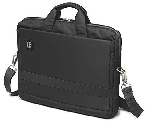 Moleskine ET73DBH15BK ID Collection Borsa a Tracolla Orizzontale Device Bag per Pc, Tablet, Notebook, Laptop e iPad fino a 15', Dimensioni 40 x 9.5 x 31 cm, Colore Nero
