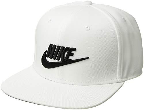 Nike Cap Sportswear Pro, White/Pine Green/Black/Black, 891284-100,Einheitsgröße