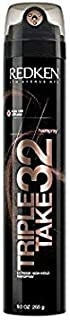 Redken Redken triple take 32 extreme high hold hairspray, 9 ounce, 9 Ounce