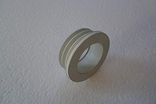 Euromanschette WC Spülrohr - Verbinder, Gummi - Dichtung DN 44 mm NEU