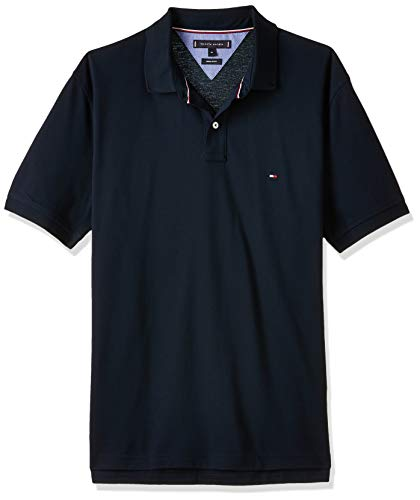 Tommy Hilfiger Core Tommy Regular Polo, Blau (Sky Captain 403), Medium Uomo
