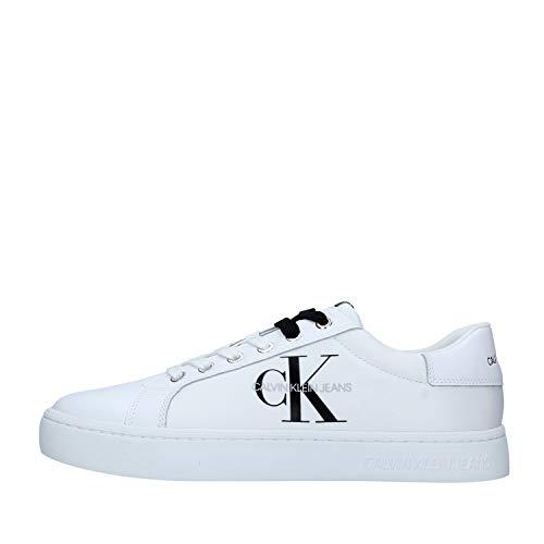 Calvin Klein Vaqueros Jeans Hombre Zapatillas Blanco Size: 41 EU