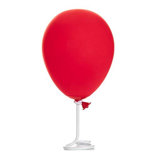 Stephen King Es Tischlampe Luftballon aus Kunststoff, leuchtet in rot.