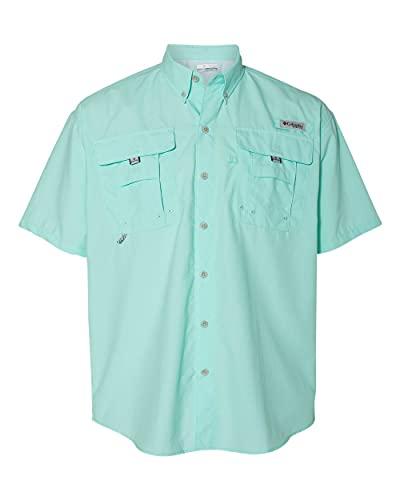 Columbia Men's Bahama Ii Short Sleeve Shirt, Moxie, Large