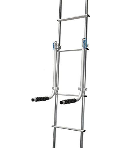 RV Ladder Mount System - Universal RV Ladder Rack for SmartTote2   Portable RV Waste Tote Tanks   Bikes   Chairs - Thetford 40830